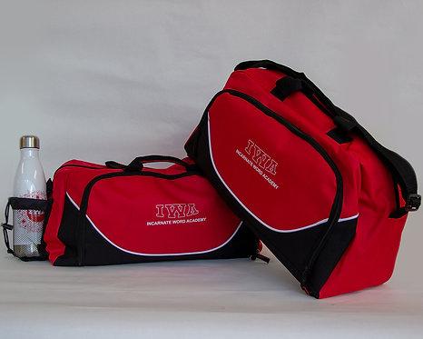 IWA Red/Black Duffle Bag
