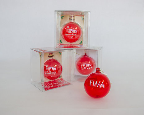 IWA Christmas Ornament