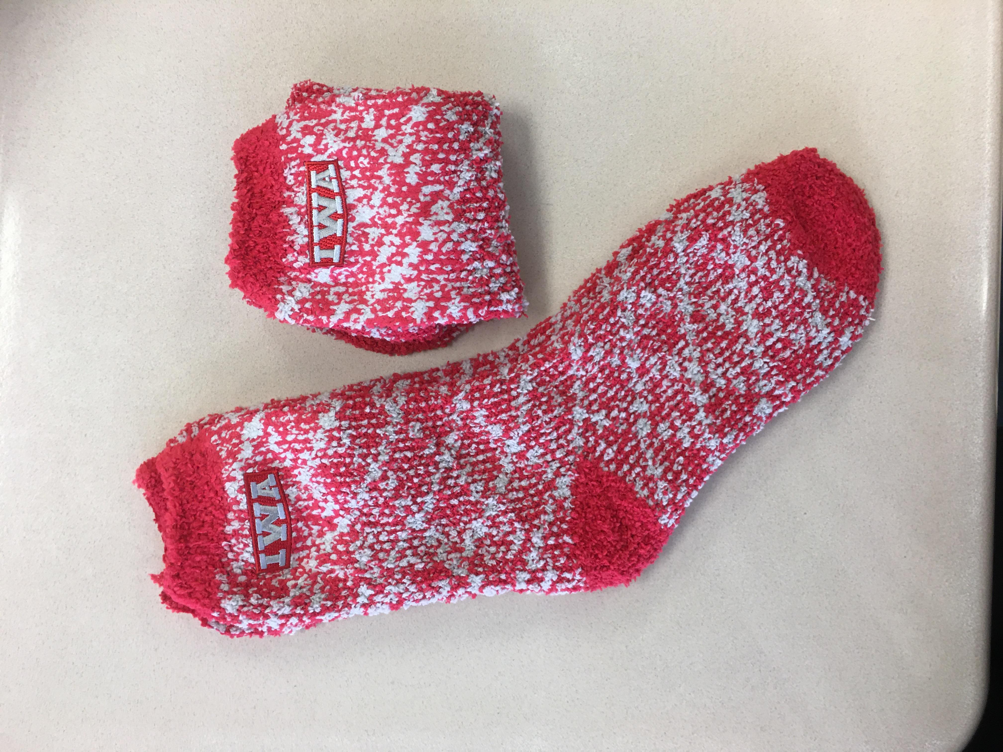 IWA Fuzzy Socks