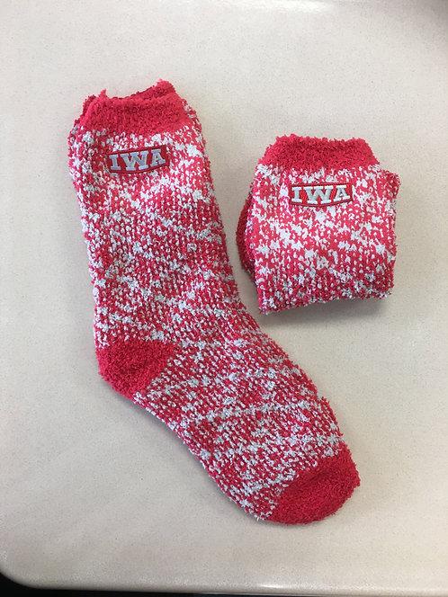 Comfy IWA Fuzzy Socks