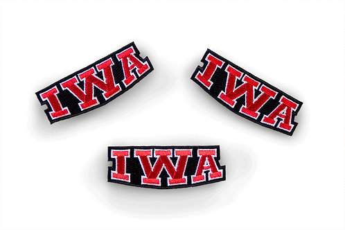 IWA Iron-On Patch
