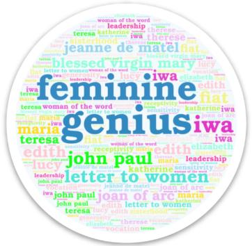 Feminine Genius Sticker