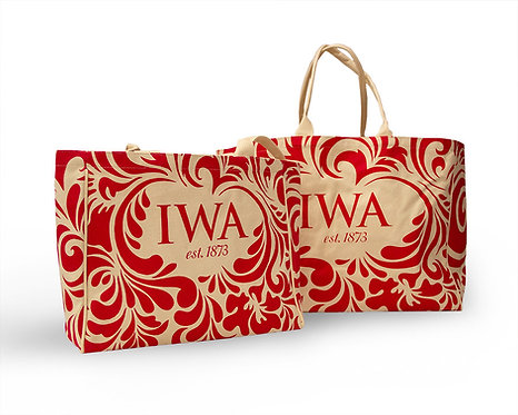 "IWA Large ""Weekender"" Canvas Tote"