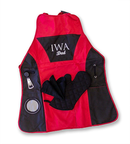 IWA Dad Grill Master Apron Kit