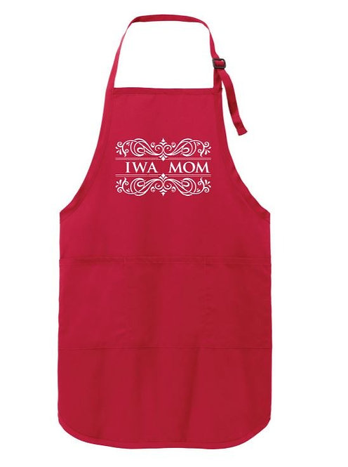 IWA Mom Red Apron