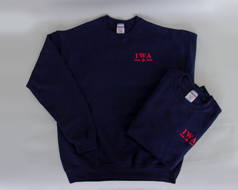 IWA Navy Sweatshirt