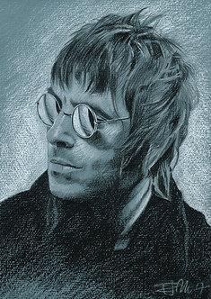 Drawn Pop Stars – Liam Gallagher