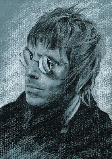 Drawn Pop Stars – Liam Gallagher