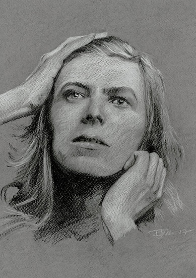 Bowie Drawings – Hunky Dory