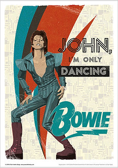 Official Bowie John I'm Only Dancing design
