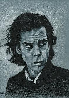 Drawn Pop Stars – Nick Cave
