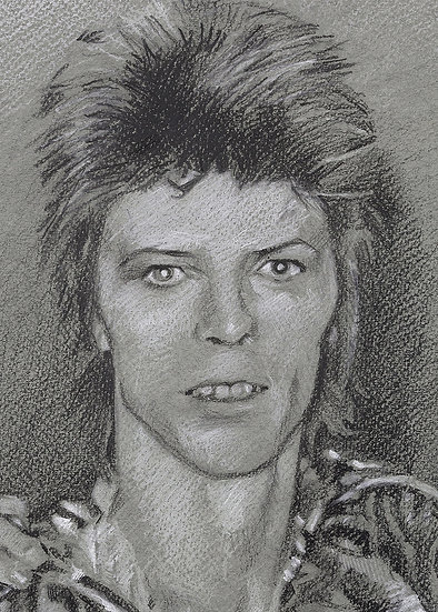 Bowie Drawings – The Holy Trinity