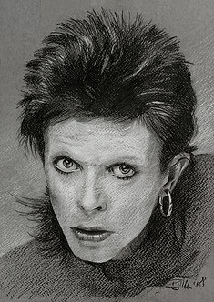 Bowie Drawings – Diamond