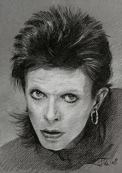 Bowie Drawings – Diamond