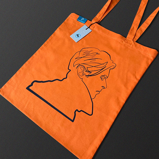 David Bowie – 'Stroke of Genius' Tote Bags