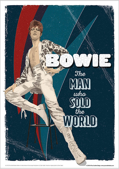 Official Bowie The Man Who Sold The World design