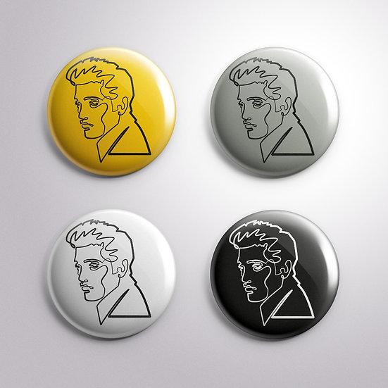 Badge Set – Stroke of Genius – Elvis