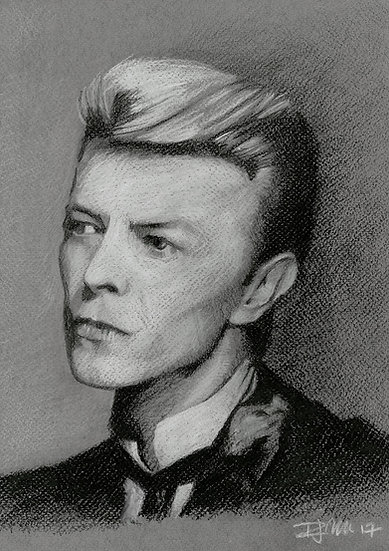 Bowie Drawings – Sound And Vision
