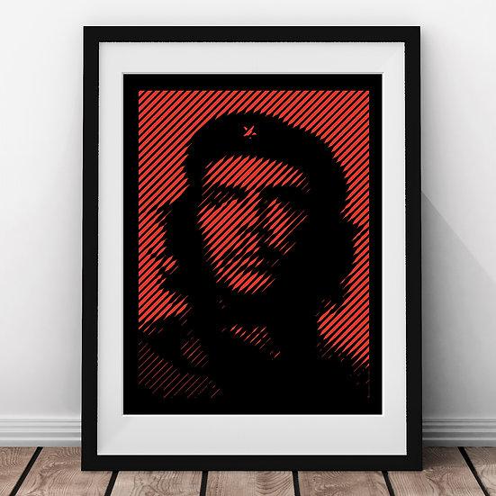 Che Guevara – Papercut