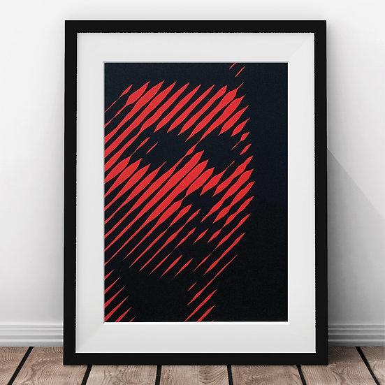 Marcus Rashford Papercut