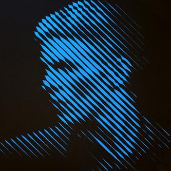 Blue Blue Electric Blue (Detail)