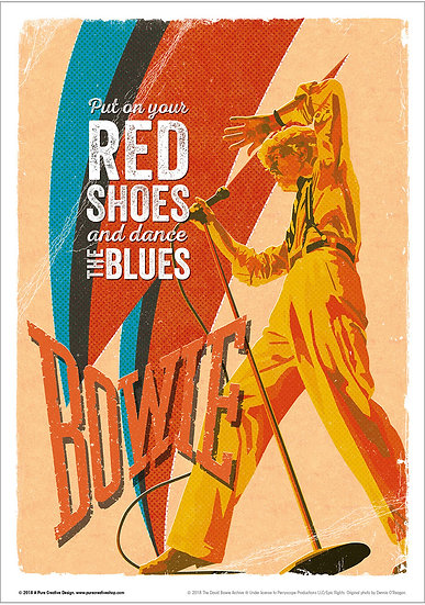 Official Bowie Serious design