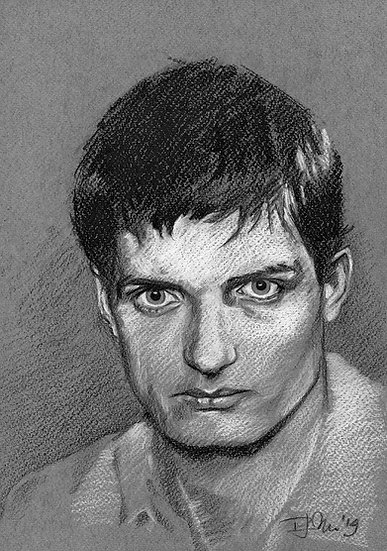 Drawn Pop Stars – Ian Curtis