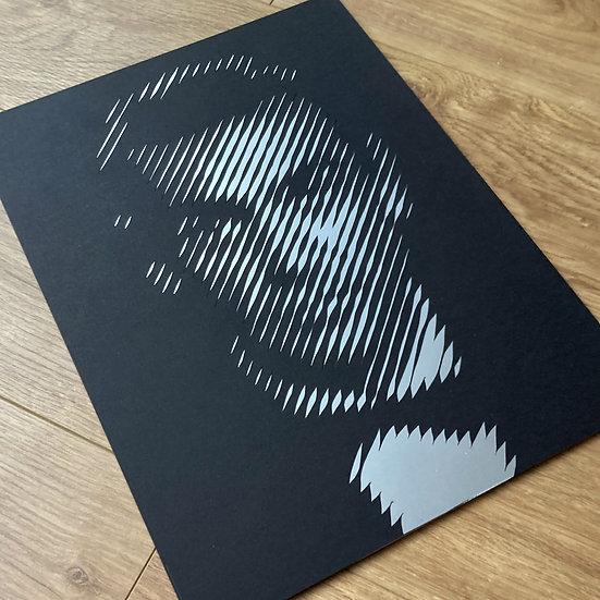 Sean Connery – James Bond 007 – Papercut
