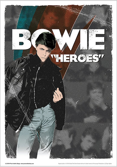 Official Bowie Hero design