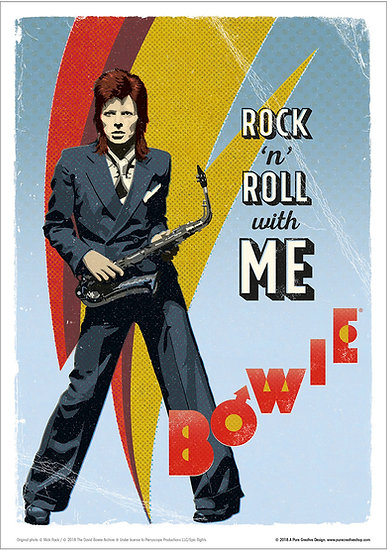 Official Bowie Pinup design