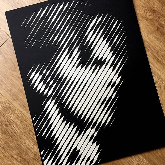 Bowie – Thin White Duke  – Papercut