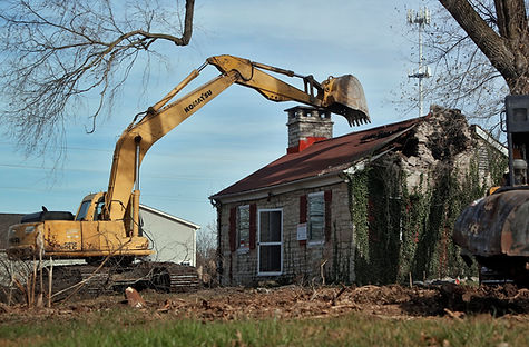 AuSable Services House Demolition