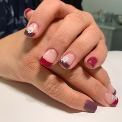 French Color Gelnails