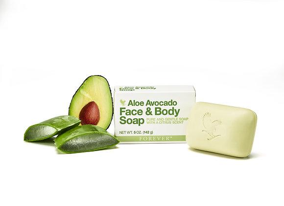 Aloe Acocado Face & Body Soap
