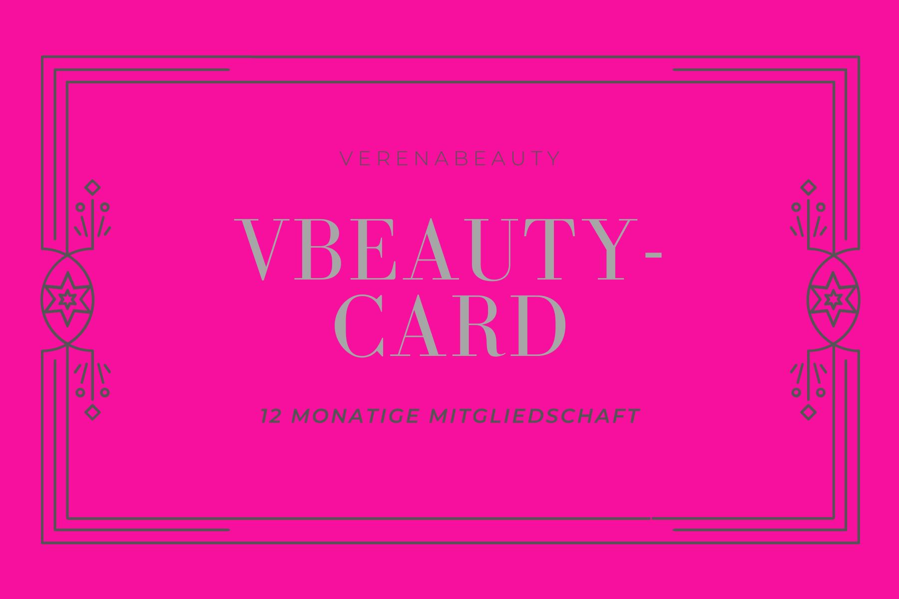 Mitgliedskarte für VerenaBeauty
