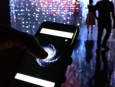 Immersive light installation - Australia