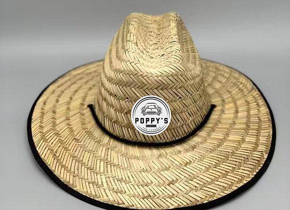 Poppy's Straw Lifeguard Hat