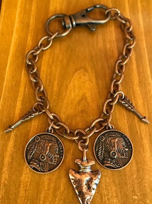 'Arrows & Coins' Bracelet