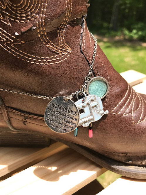 'Wanderlust' Boot Jewelry