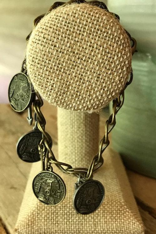 'Coins & Arrows' Bracelet