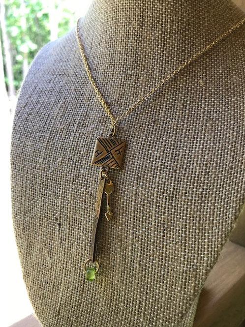 'Square peg' Necklace