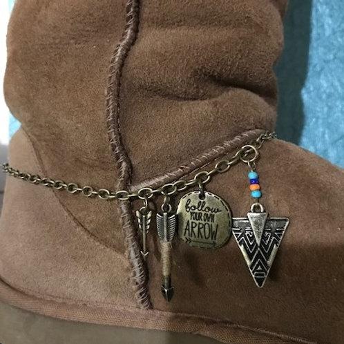 'Follow you own Arrow' Boot Jewelry