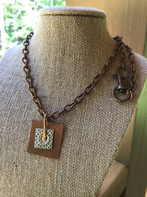 'Hip to be Square' Necklace
