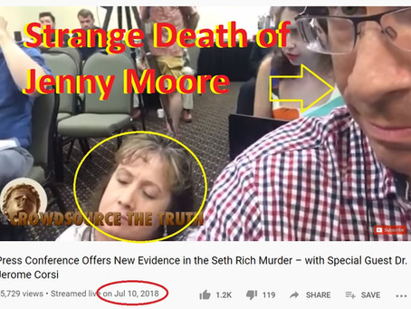 [ALERT]: The mysterious death of Jenny Marie Moore and the Jason Goodman connection