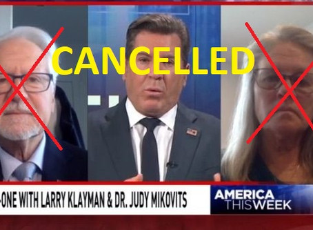 TV show cancelled and law license suspended for Jason Goodman side-kick Larry Klayman (ooppssiee)