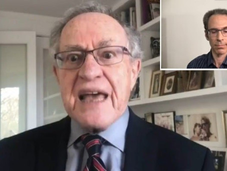 "Alan Dershowitz concurs with federal Judge Valerie E. Caproni, ""Jason Goodman is a crack-pot!"""
