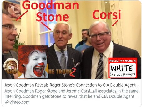 "Roger ""martial law"" Stone sidekick Jason Goodman pushing ""bloodless revolution"" with Larry Klayman"