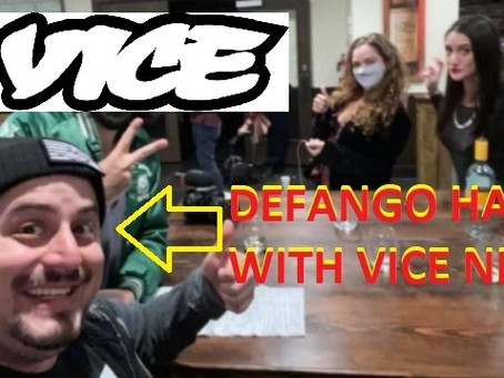 DEFANGO hangs with VICE NEWS to talk about QAnon --  questions orbit about Texas AG Ken Paxton