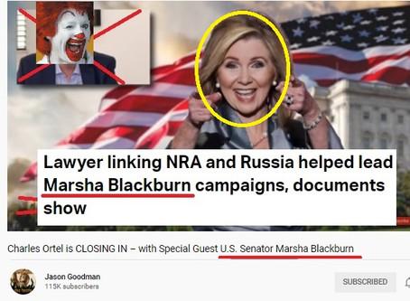 Russia-linked Marsha Blackburn joins Jason Goodman conspiracy show under N.Y.A.G. watchful eyes
