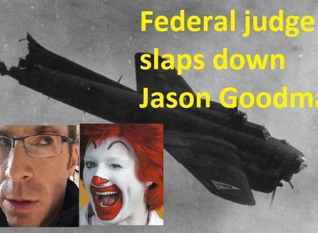 Federal judge slaps down Jason Goodman's COVID case transfer request, freezes lawsuit for 60 days
